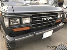 ランドクルーザー60トヨタ(純正) 純正グリルの全体画像
