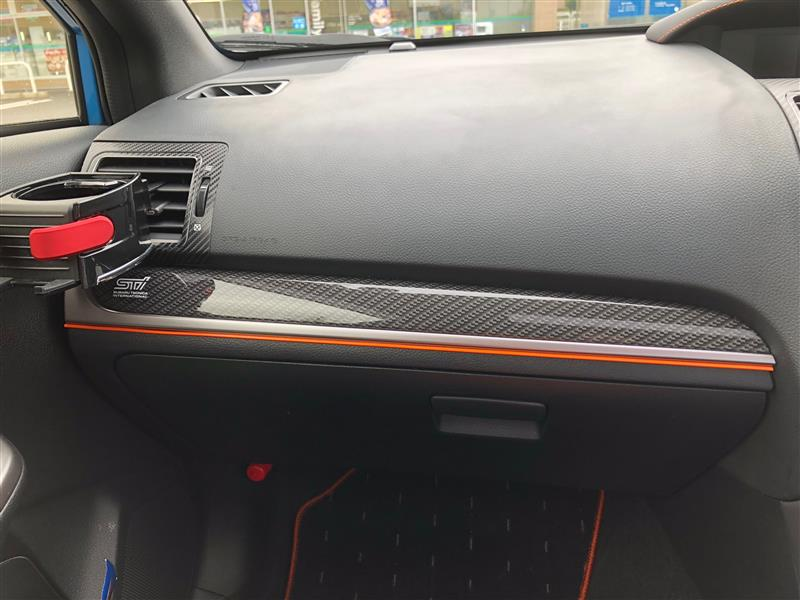 スバル(純正) フォレスターX-BREAK用カーボン調オーナメントパネル