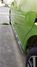 タンクカスタムCarOve  汎用 アンダーリップモール カーボン タイプ リップスポイラー フェンダー アーチモール バンパー エアロ CO-RIP-Gの全体画像