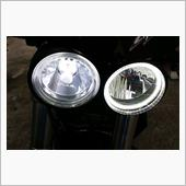 ノーブランド LED H4 4000lm + LEDイカリング