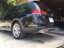 ゴルフ オールトラックEXART EXART Special Order Exhaust / ワンオフマフラーの単体画像