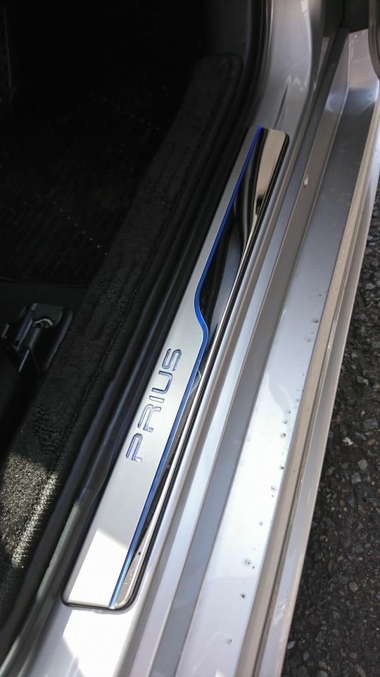 北米トヨタ純正 4RUNNER スカッフプレート