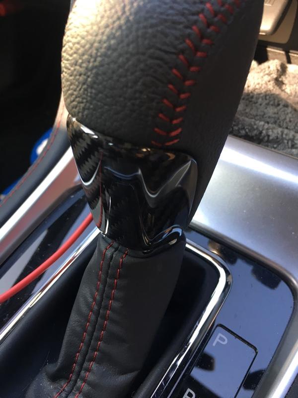 AXIS-PARTS ドライカーボ製シフトノブカバー