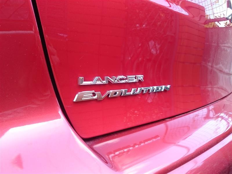 三菱自動車(純正) EVOLUTIONエンブレム