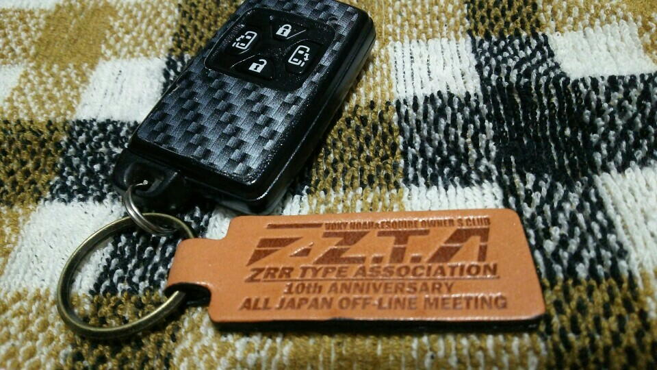 ZTAオリジナル ZTA10周年記念 全国オフ限定 キーホルダー
