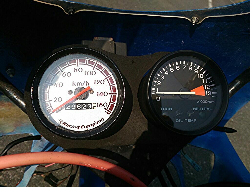 KITACO 160km/hスケール スピードメーター