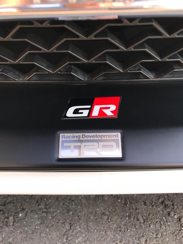 TRD / トヨタテクノクラフト GR ディスチャージテープ小
