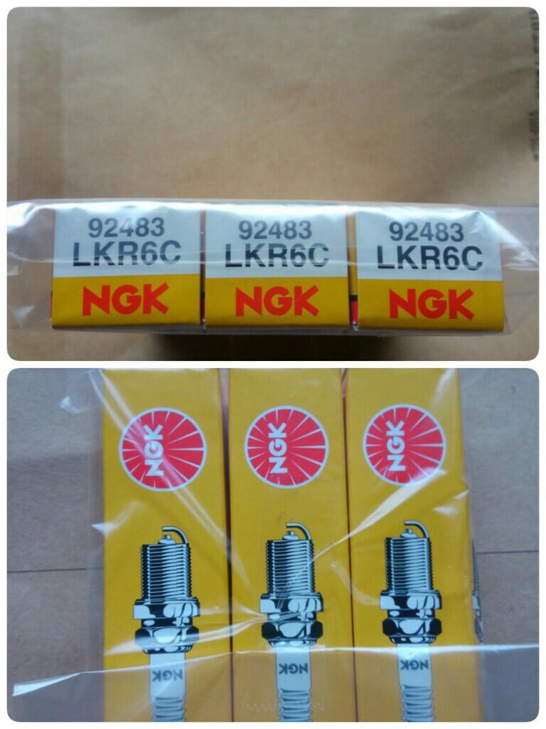NGKスパークプラグ / 日本特殊陶業 LKR 6C 92483