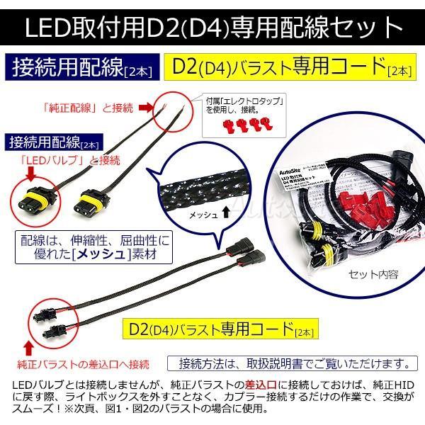 Auto Site  LED取付用 D2 専用配線セット