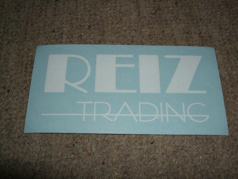 REIZ TRADING ステッカー