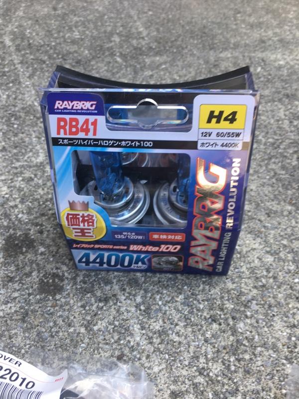 RAYBRIG / スタンレー電気 SPORTS series White100 4400K H4 /RB41