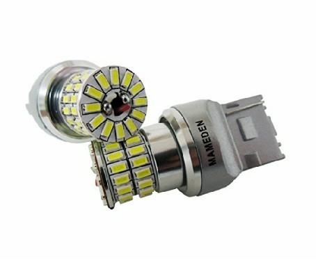 まめ電 T20 MIRA-SMD 車検対応 LEDバルブ ウェッジ球 ホワイト バックランプ専用