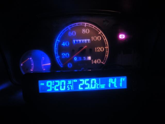 NAPOLEX  電波時計/温度計/電圧計