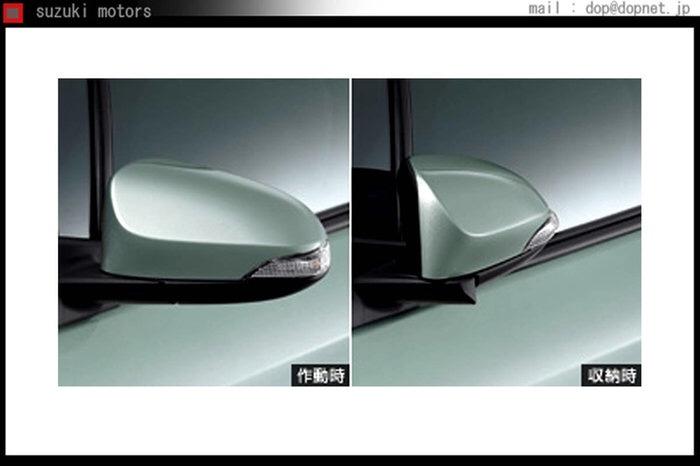 トヨタ(純正) オートリトラクタブルミラー
