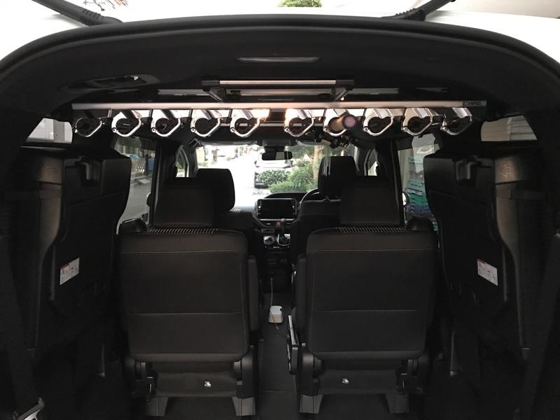 CAR MATE / カーメイト IF33E 10ロッドホルダーDHE (IF7規格)
