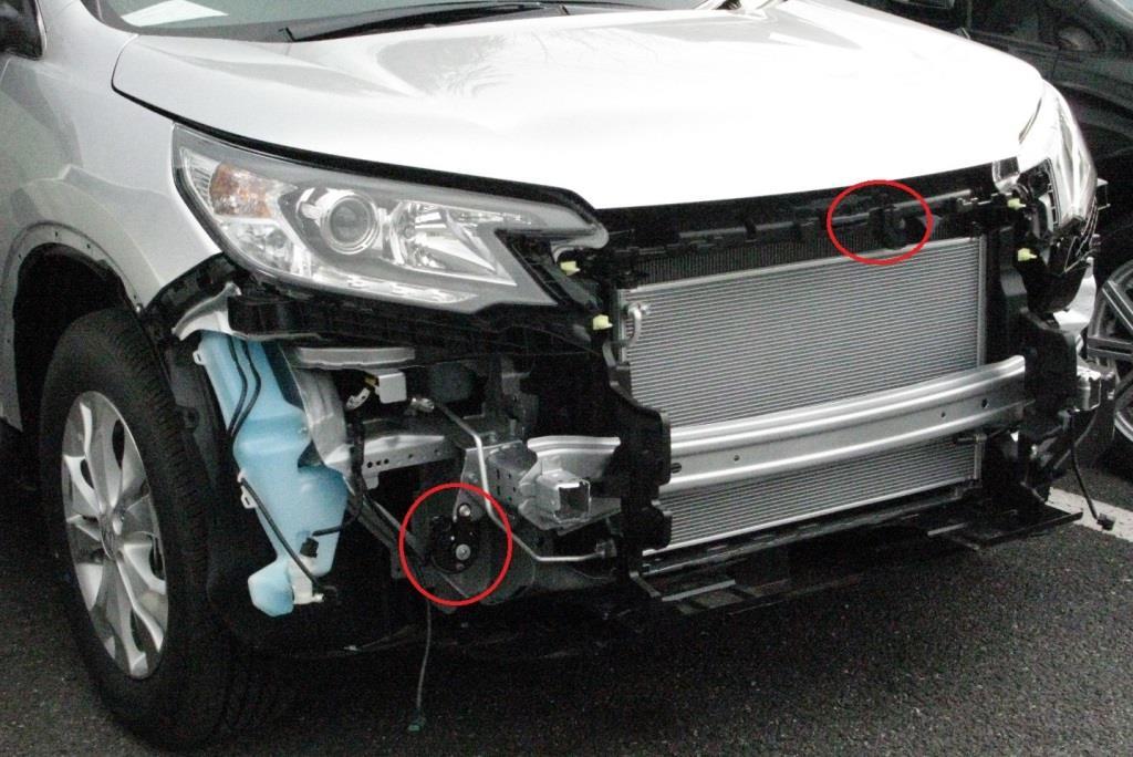 Modulo / Honda Access フィット用ユーロホーン