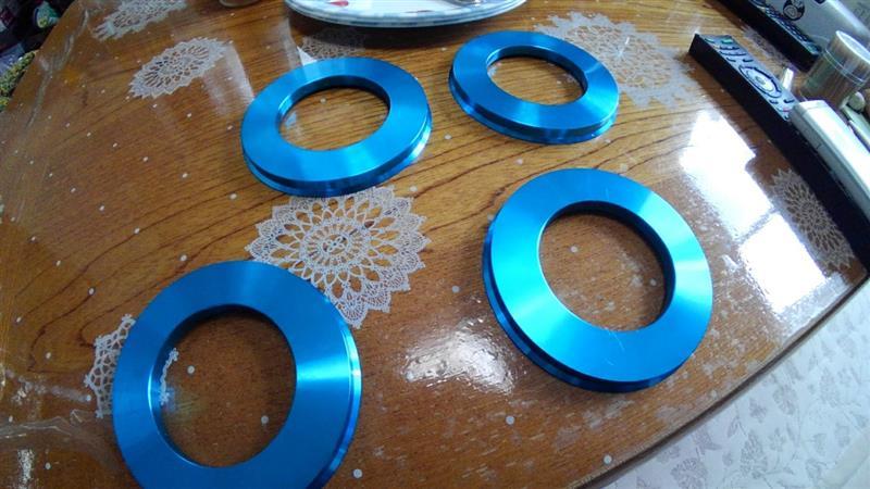 ??? アルミ鍛造製ハブリング110→67.1ミリ