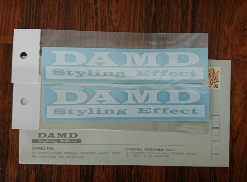 DAMD オリジナルステッカー