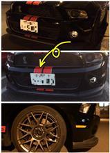シェルビーフォード(純正) Shelby GT500 Front Lower Bumper Air Dam Deflector Chin Splitterの全体画像