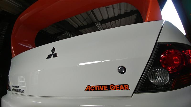 三菱自動車(純正) アクティブギア デカール
