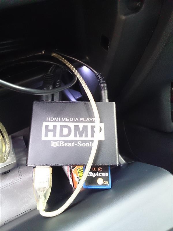 Beat-Sonic 車載用メディアプレーヤーHDMP1A