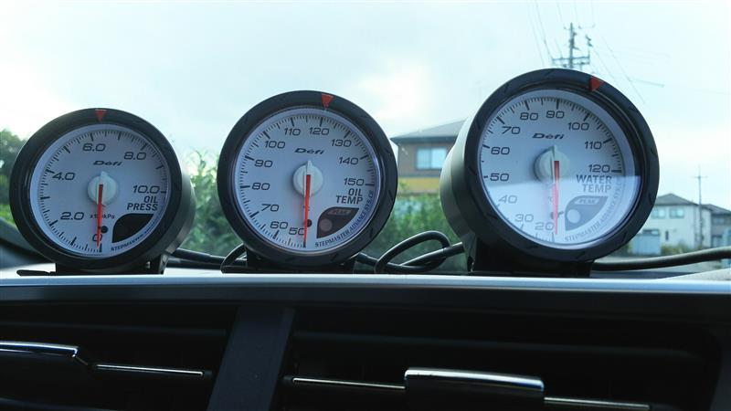 Defi Defi-Link Meter ADVANCE CR Defi-Link Meter ADVANCE CR 油圧計