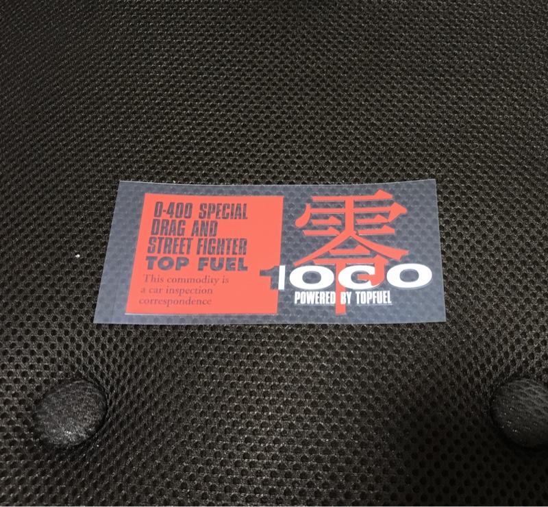 ZERO-1000 / 零1000 零1000ステッカー