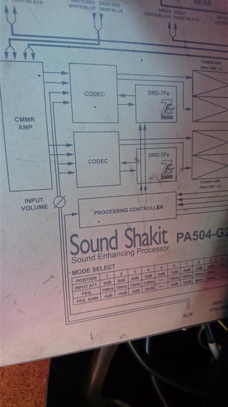 サウンドシャキット PA504-G2