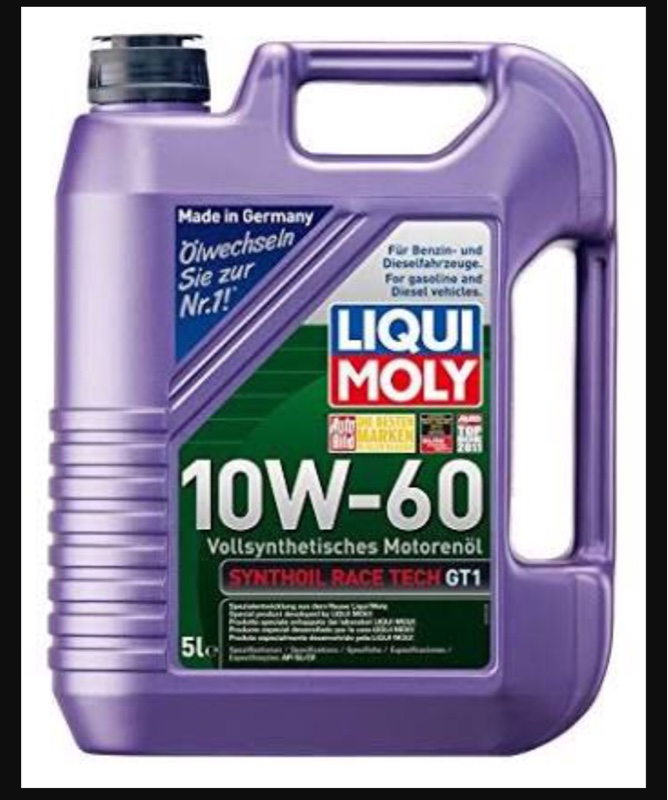 LIQUIMOLY SYNTHOIL RACE TECH GT1 10W-60