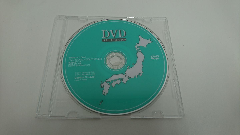 日産(純正) 全国版DVD-ROM '11-'12年モデル