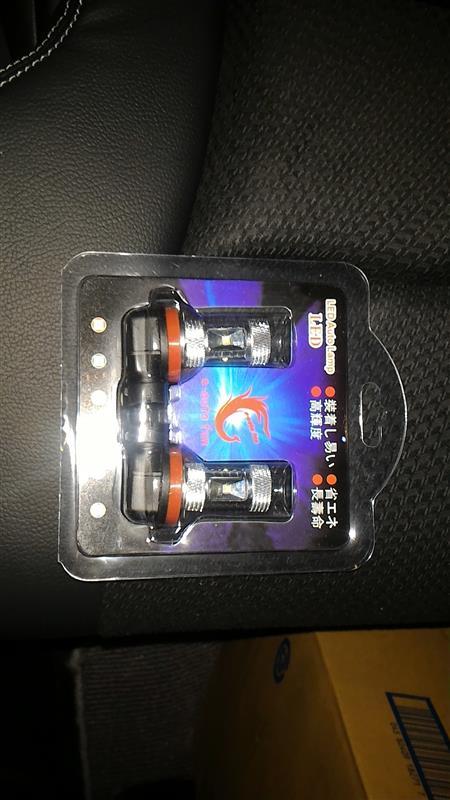 CREE製 LED コーナーリングランプ H8 30W