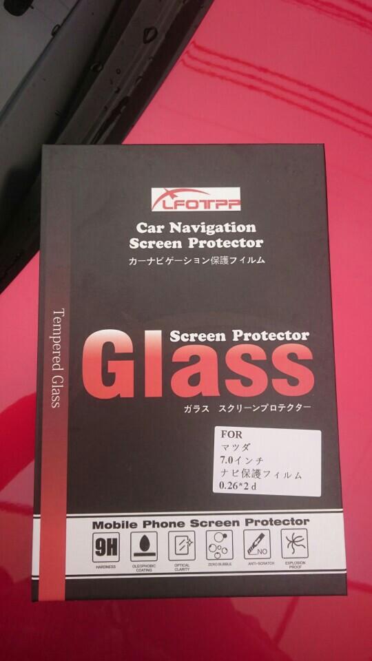 LFOTPP マツダ 純正 7.0インチ ナビゲーション専用ガラスフィルム