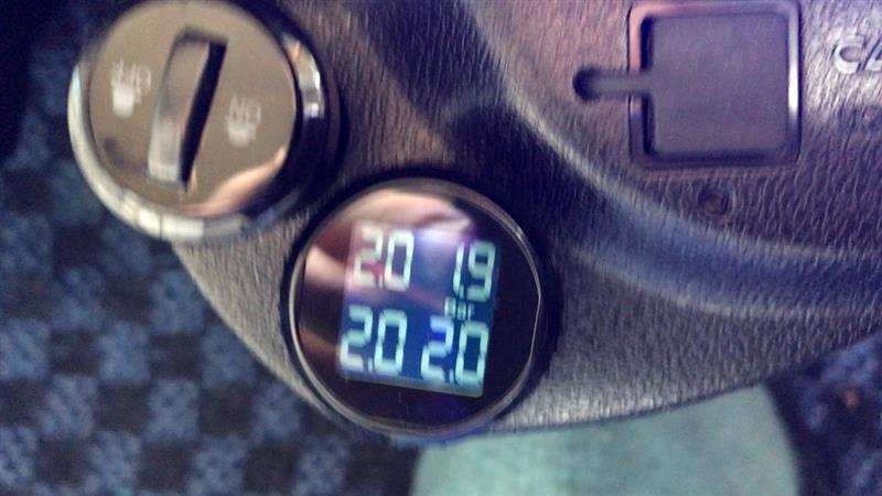rio Rand タイヤ空気圧監視システム