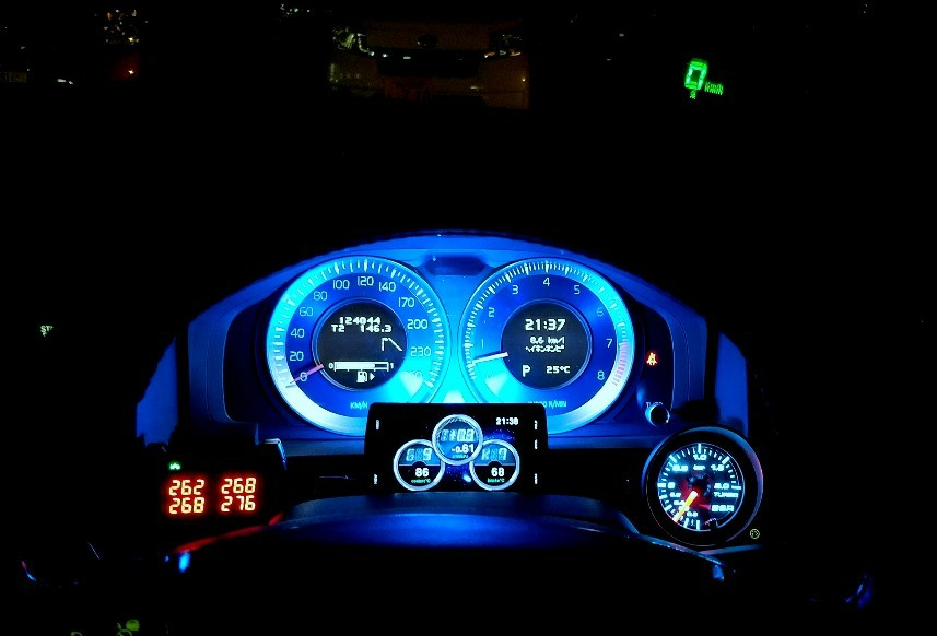BSR TURBO BOOST GAUGE