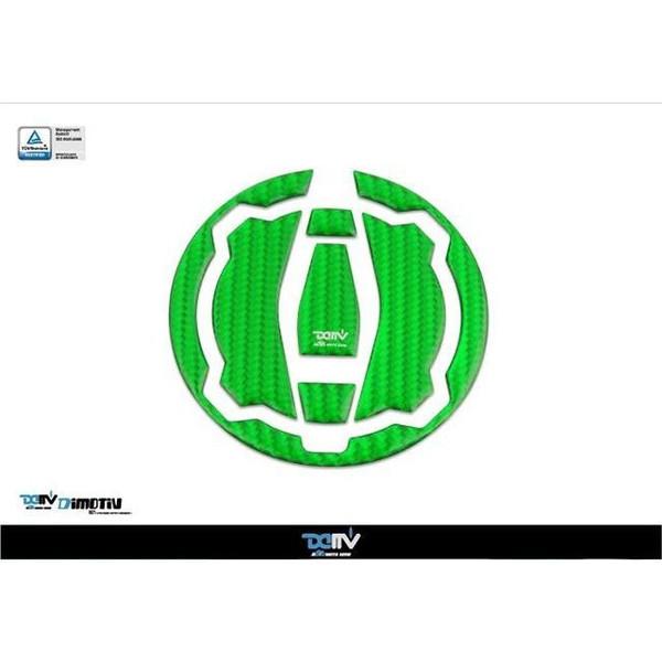 Dimotiv カーボンタンクキャップパッド(グリーンカーボン)