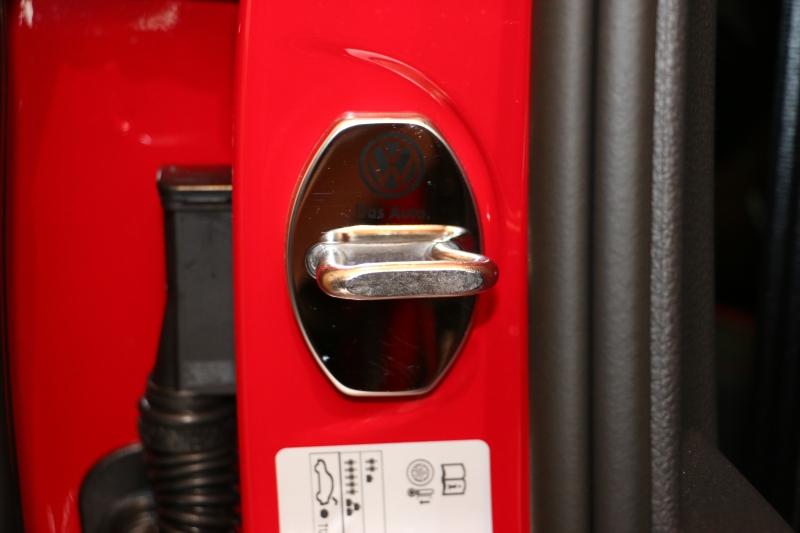 大陸製 VW GOLF7 GTI  Stainless Door lock cover