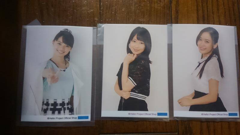 DCファクトリー L版生写真セット 小田さくら、野中美希、上國料萌衣