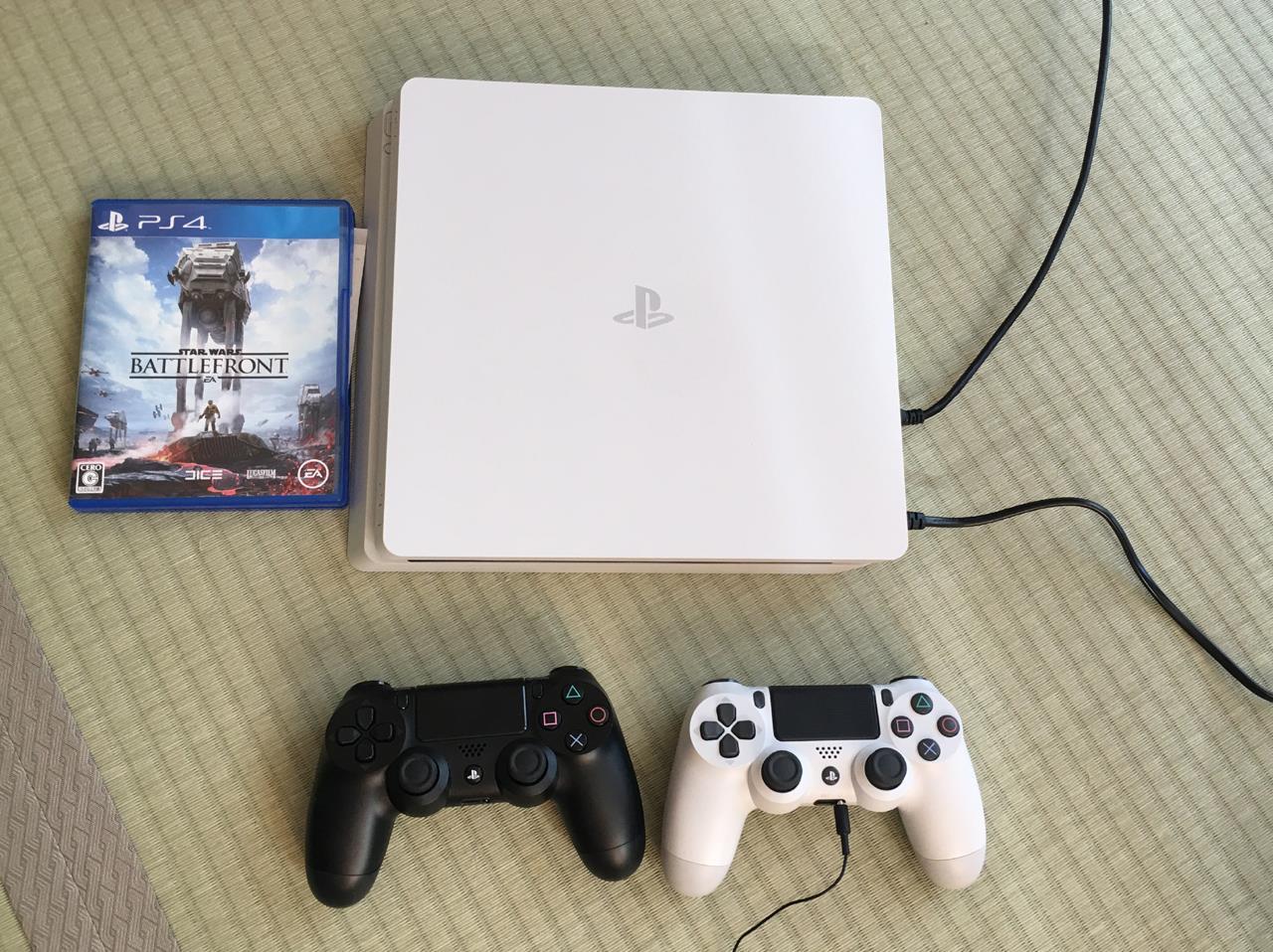 SONY PlayStation4 グレイシャー・ホワイト 500GB CUH-2100AB02