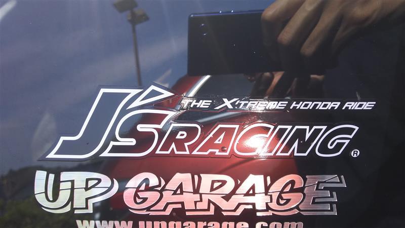 J'S RACING ステッカー
