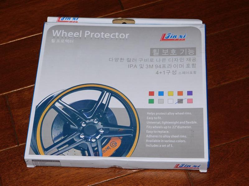 MAKINOSD ホイール モール リム ガード 8m ブラック タイヤ キズ 防止 隠し カラー テープ
