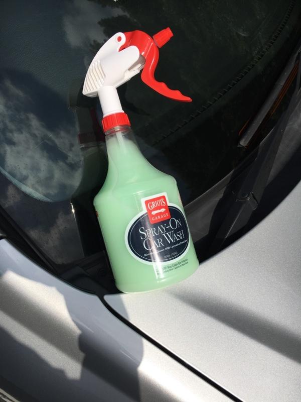 GRIOT'S GARAGE SUPRAY ON CAR WASH