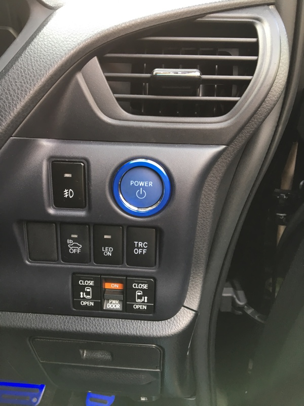 CAR MATE / カーメイト ドレスアップパーツ プッシュスイッチリング用 トヨタ用A / DZ92