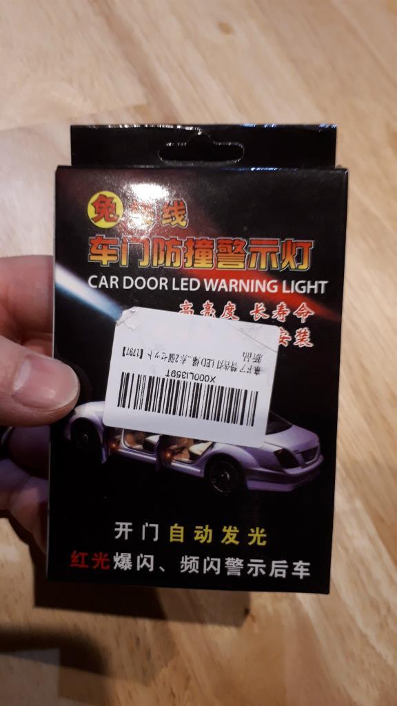 amazon CAR DOOR LED WARNING LIGTH