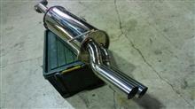 ADエキスパートマメゾウワークス 納品快速マフラー(豆管ver.3)の単体画像