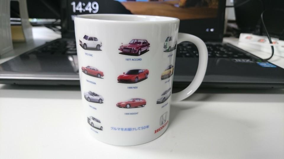 HONDA 50周年記念マグカップ