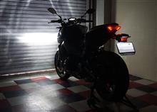 MT-09ノーブランド バイク LEDヘッドライト H4 hi/lo HS1 の全体画像
