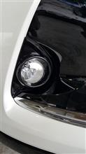 ハリアー G'sトヨタ純正 ロアグリル 他 202ブラック塗装の全体画像