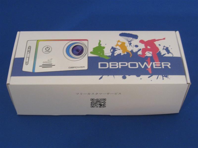 DBPOWER EX5000 WiFi ウェアラブルカメラ