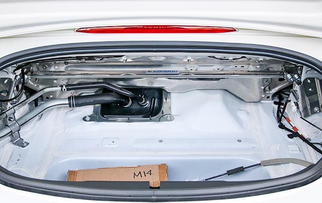 OKUYAMA CARBING ロードスター RF(NDERC)ストラットタワーバー /アルミ /リア /タイプD