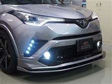 C-HRエルフォード LED デイランプパネルの全体画像